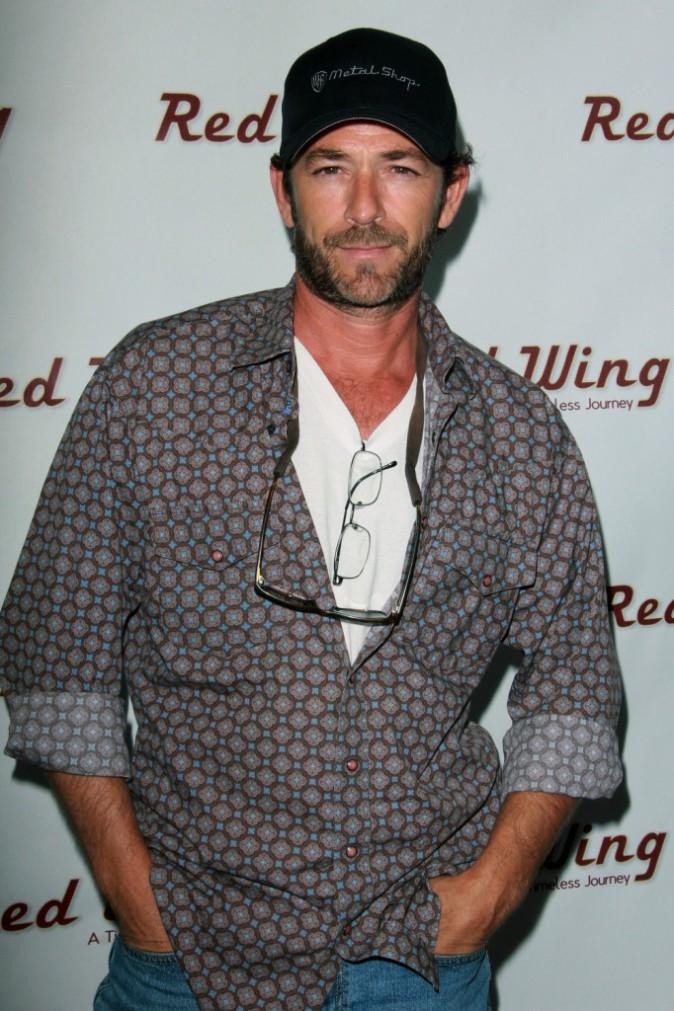 """Luke Perry à la première du film """"Red Wing"""" à Los Angeles, le 6 août 2013."""