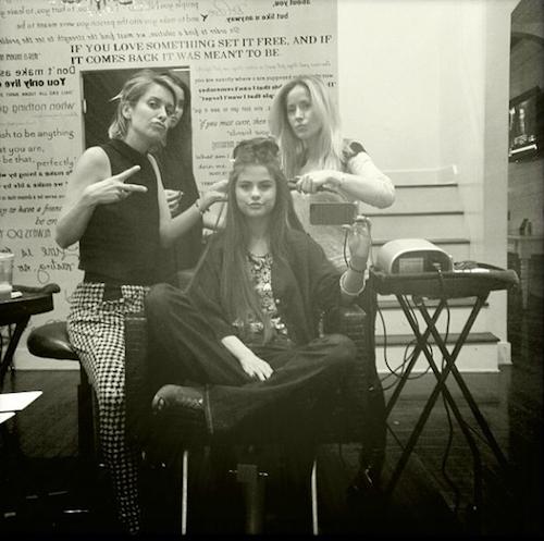 Selena Gomez et son équipe