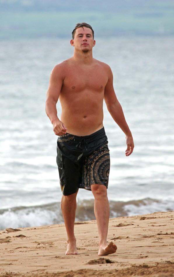 Channing Tatum, un beau gosse imposant !