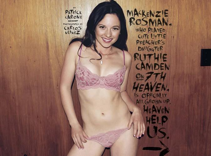 Mackenzie Rosman pose en lingerie sexy !