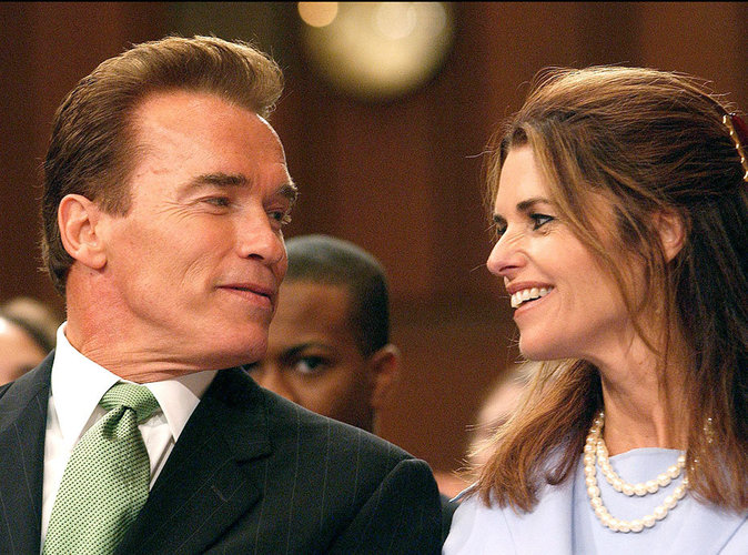 Arnold Schwarzeneger et Maria Shriver