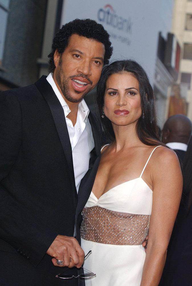 Lionel et Diana Richie