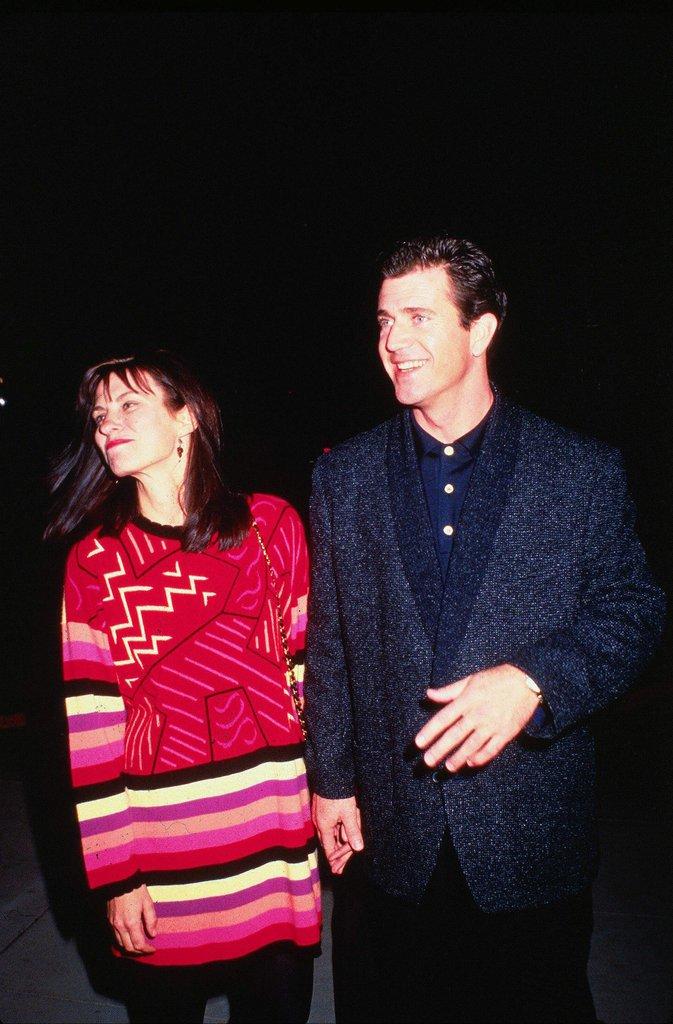 Mel Gibson et Robyn Denise Moore