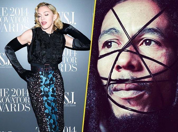 Photos : Madonna : des photos de Bob Marley et Martin Luther King pour la promo de son album, les fans (très) en colère !