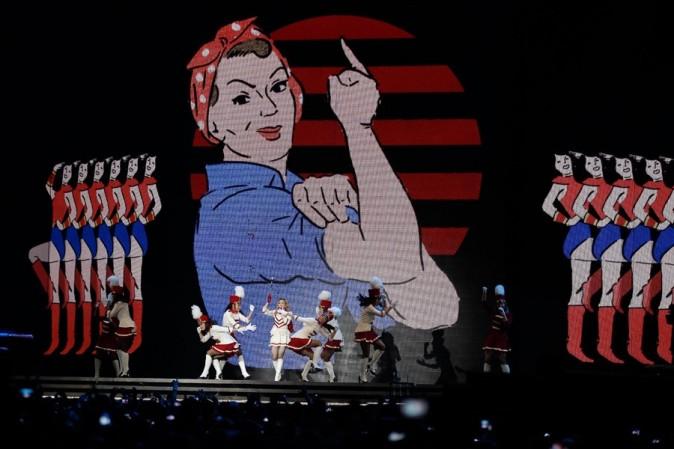 Madonna en concert à Nice le 21 août 2012