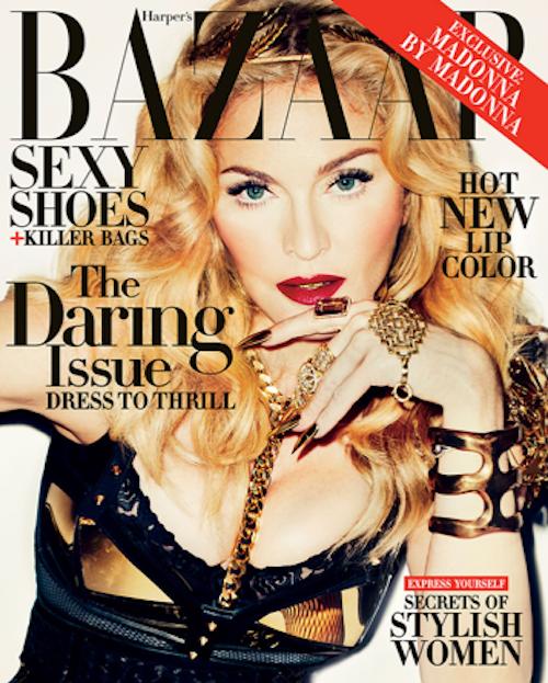 Photos : Madonna : elle se fait guerrière SM devant l'objectif de Terry Richardson !