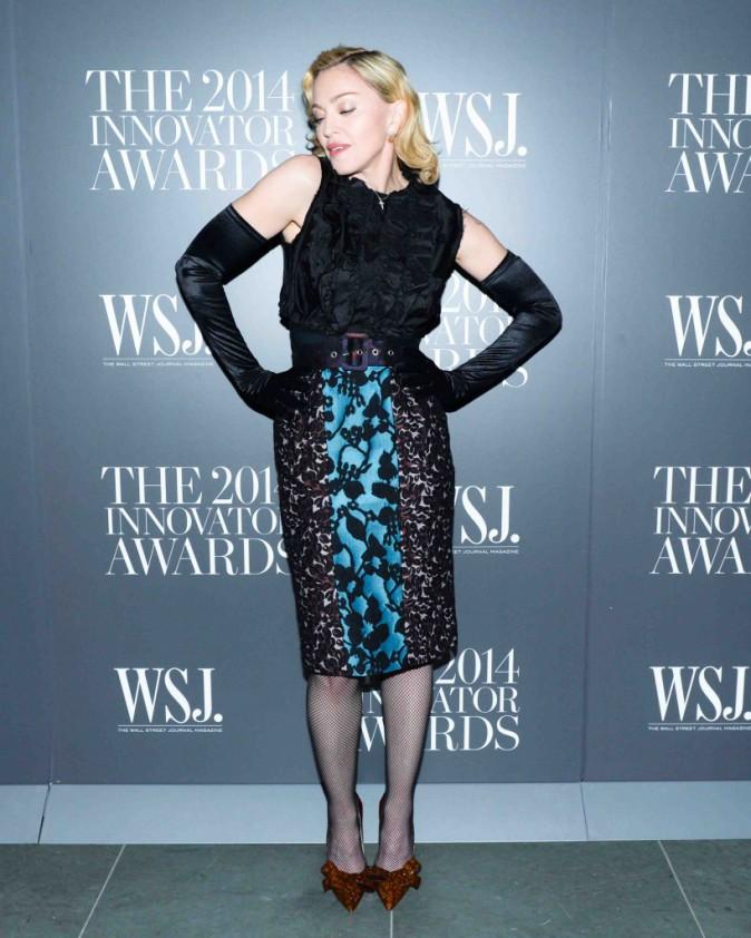 Madonna : elle se la joue pin-up aux Innovator Awards !