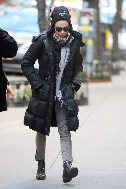 Madonna le 9 mars 2013 à New York