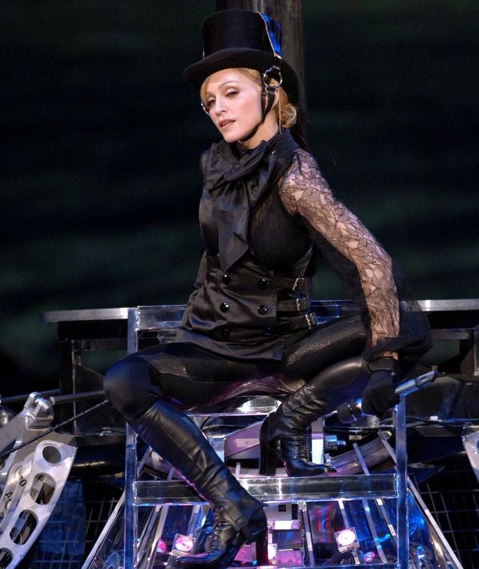 Photos : Madonna sur scène en 2006