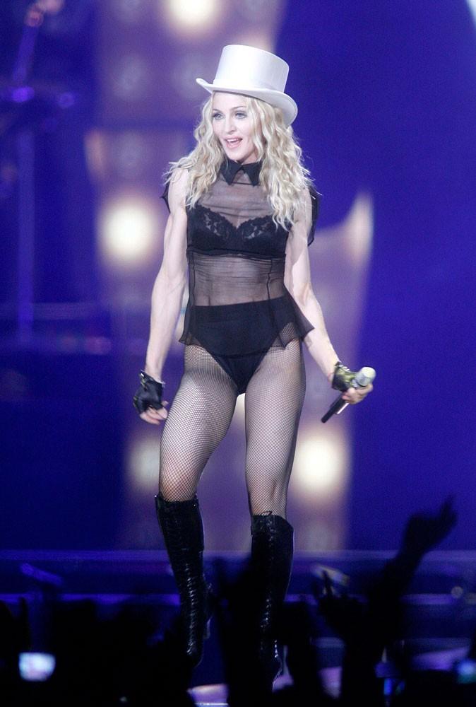 Photos : Madonna sur scène en 2008