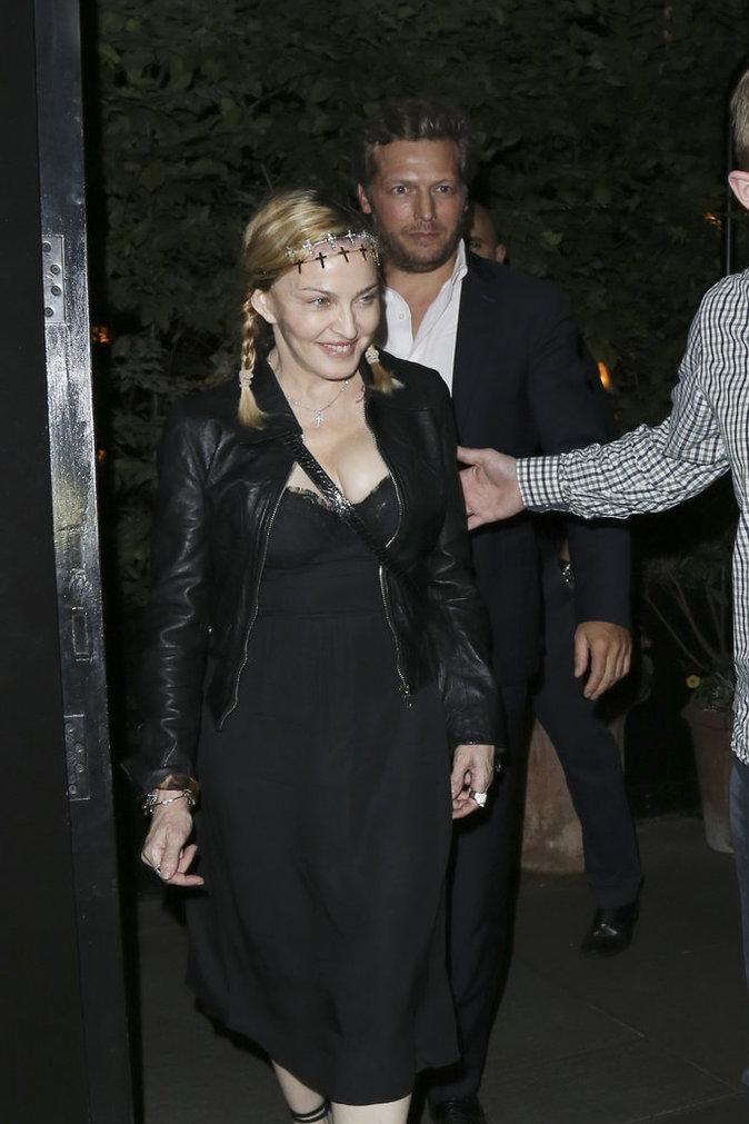 Madonna est éblouissante
