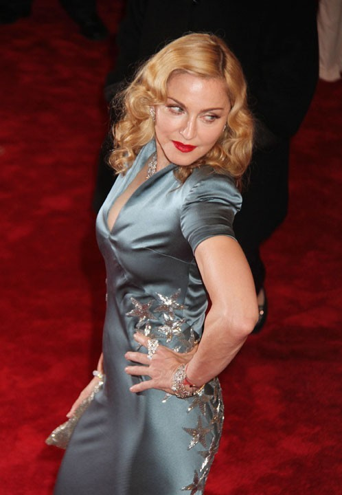 Madonna au MET Ball, le 2 mai 2011 à New York.