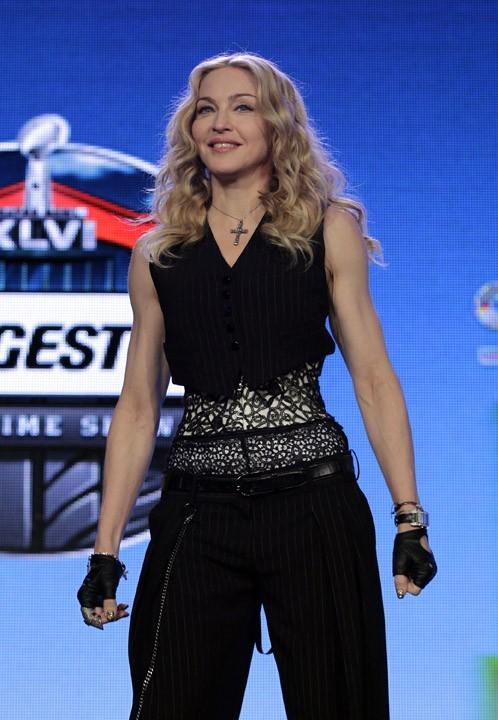 Madonna, reine du SuperBowl 2012 !