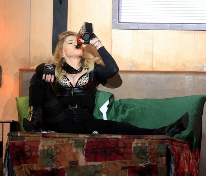 Madonna en concert à Amsterdam le 7 juillet 2012