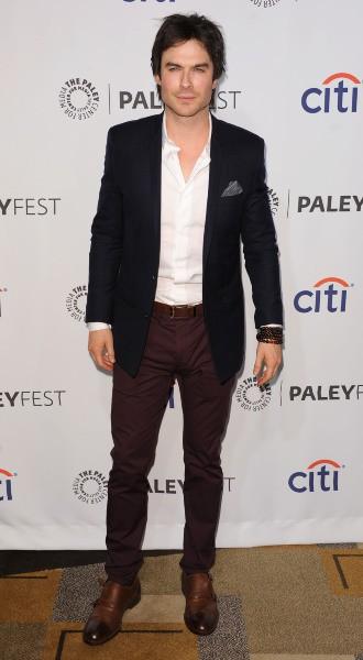 Ian Somerhalder lors du PaleyFest à Los Angeles, le 16 mars 2014.