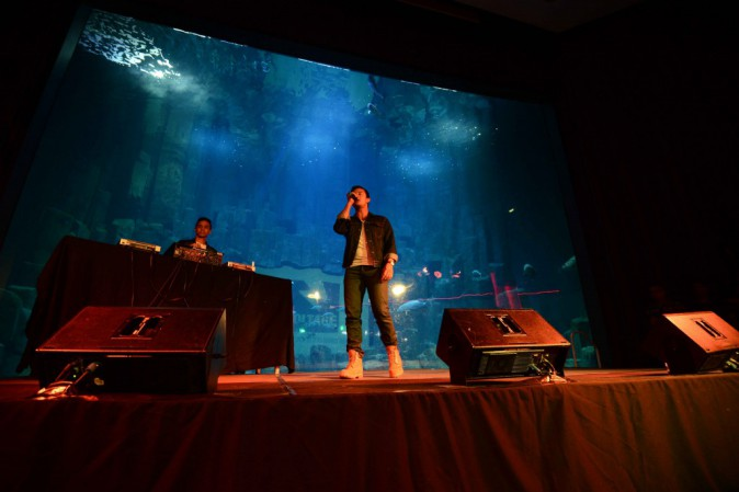 Magic System, Fréro Delavega, Marina Kaye et Amine font le show à l'Aquarium de Paris !