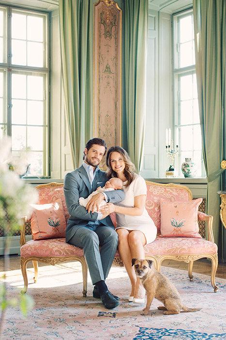 Photos : Alexander de Suède avec ses parents Carl Philip et Sofia de Suède