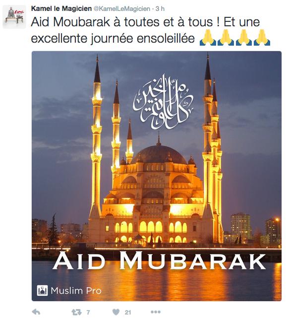 Photos : Maitre Gims, Jamel Debbouze, Omar Sy... ces stars qui fêtent l'Aïd !