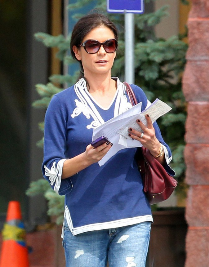 Catherine Zeta-Jones le 5 septembre 2013