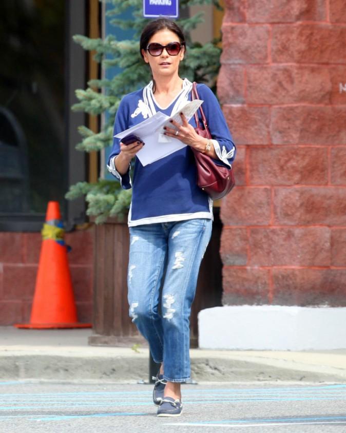 Catherine Zeta-Jones le 5 septembre 2013