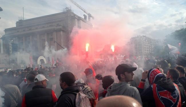 Les manifestations à Paris