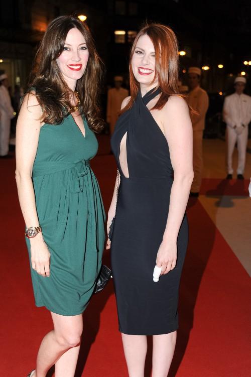 Mareva Galanter et Elodie Frégé à Paris le 16 avril 2015