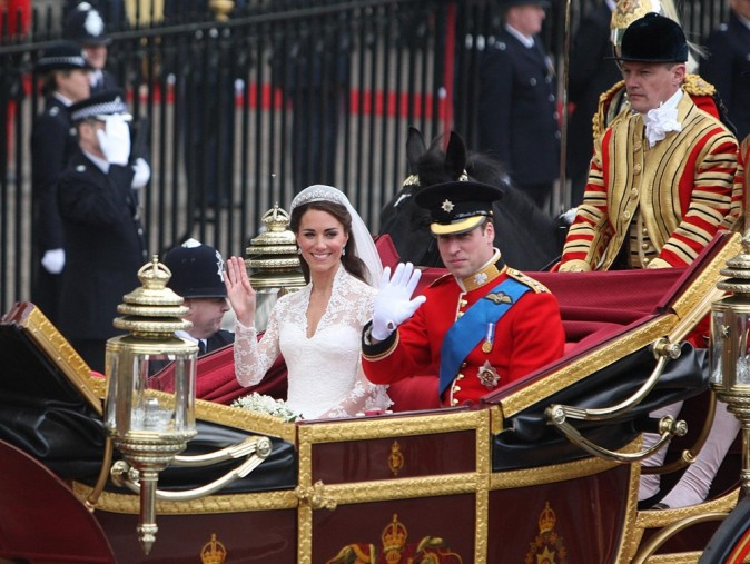 Mariage de Kate Middleton et du prince William, le 29 avril 2011 à Londres