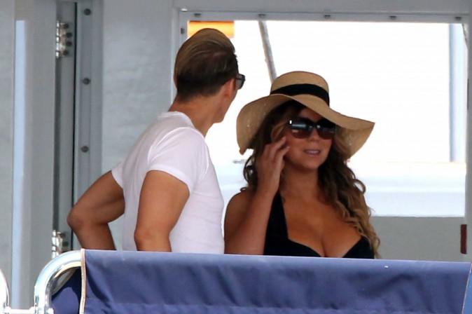 Mariah Carey à Ibiza, le 30 juin 2015