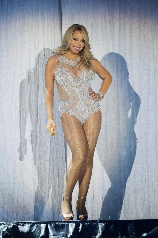 Mariah Carey a fait sensation pendant son concert