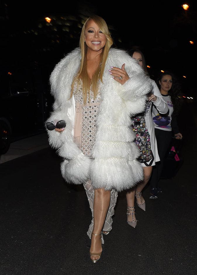 Mariah Carey, aussi sexy sur scène qu'en after party !