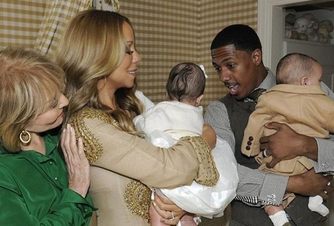 C'est la première fois qu'ils montrent leurs bébés...