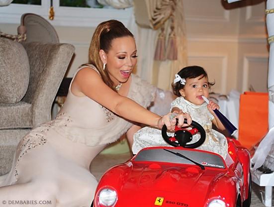 Mariah Carey veut le meilleur pour ses bébés...