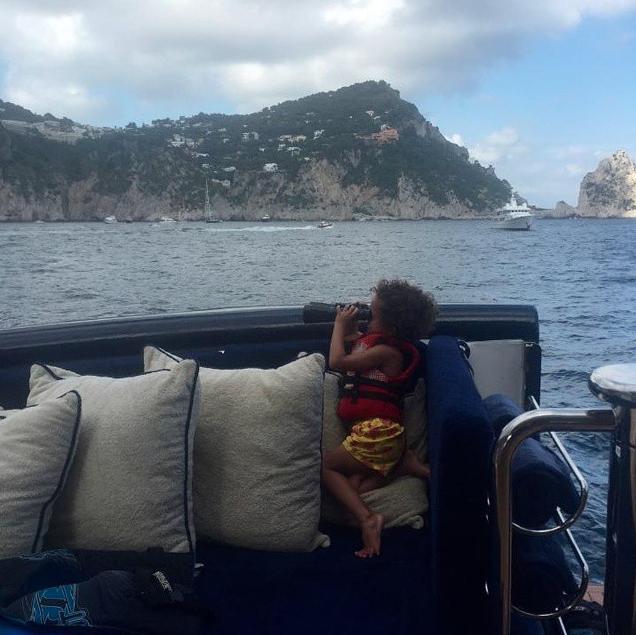 Mariah Carey et Moroccan Scott le 20 juin 2015