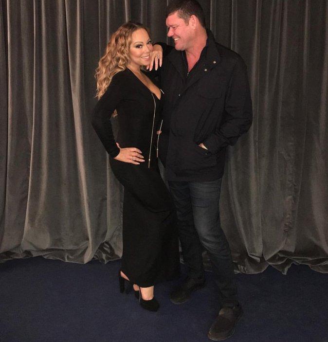 Mariah et son fiancé milliardaire