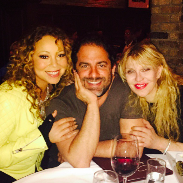 Mariah Carey : elle prend du bon temps avec Courtney Love !