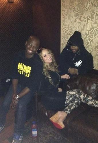 Brian Michael Cox, Mariah Carey et Jermaine Dupri