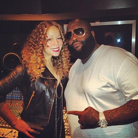 Mariah Carey et Rick Ross