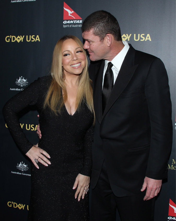 Mariah Carey et James Packer