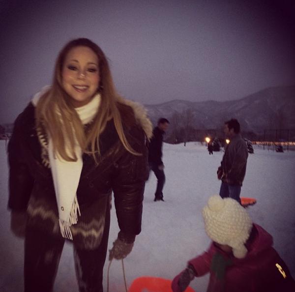 Mariah Carey prête à glisser !
