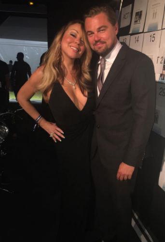 Mariah Carey  a félicité Leonardo DiCaprio