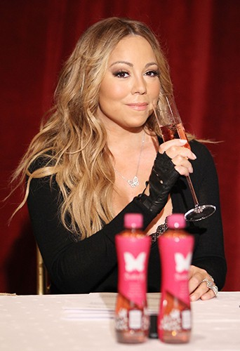 Mariah Carey à New York le 9 juin 2014