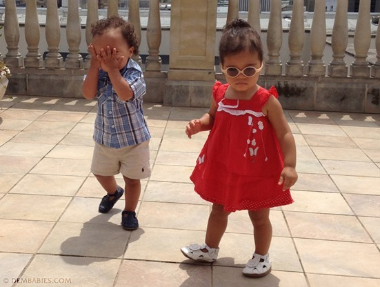Des jumeaux trop mignons !