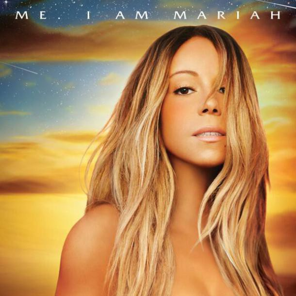 Photos promo du nouvel album de Mariah Carey.