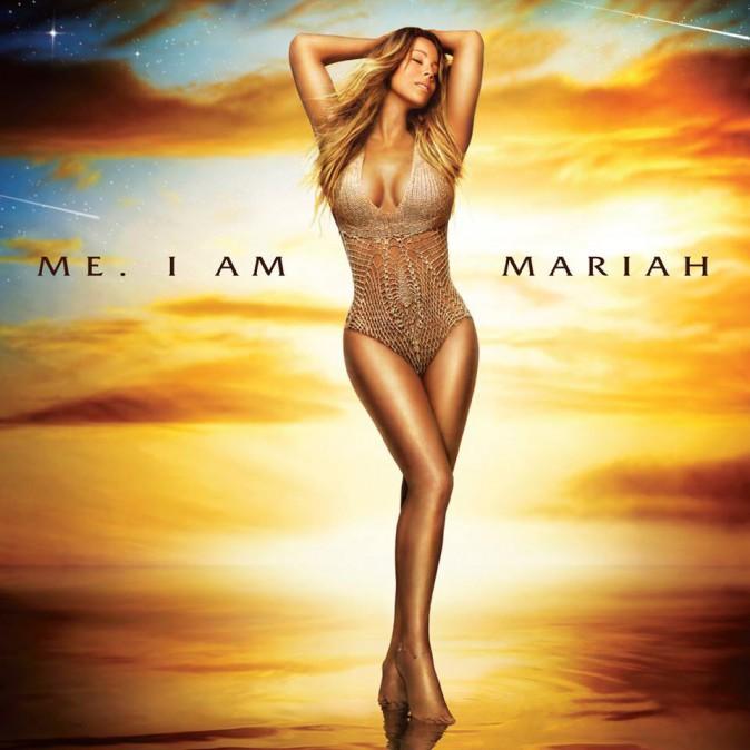 Pochette du nouvel album de Mariah Carey.
