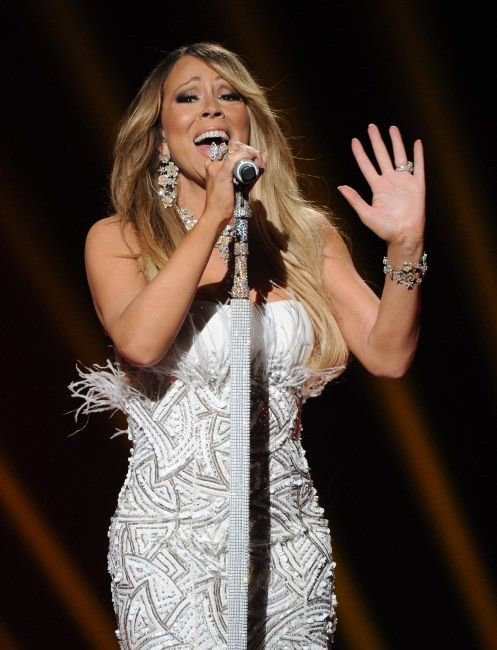Mariah Carey lors de la finale d'American Idol à Los Angeles, le 16 mai 2013.