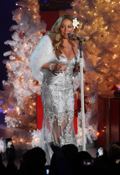 Mariah Carey le 27 novembre 2012 à New York