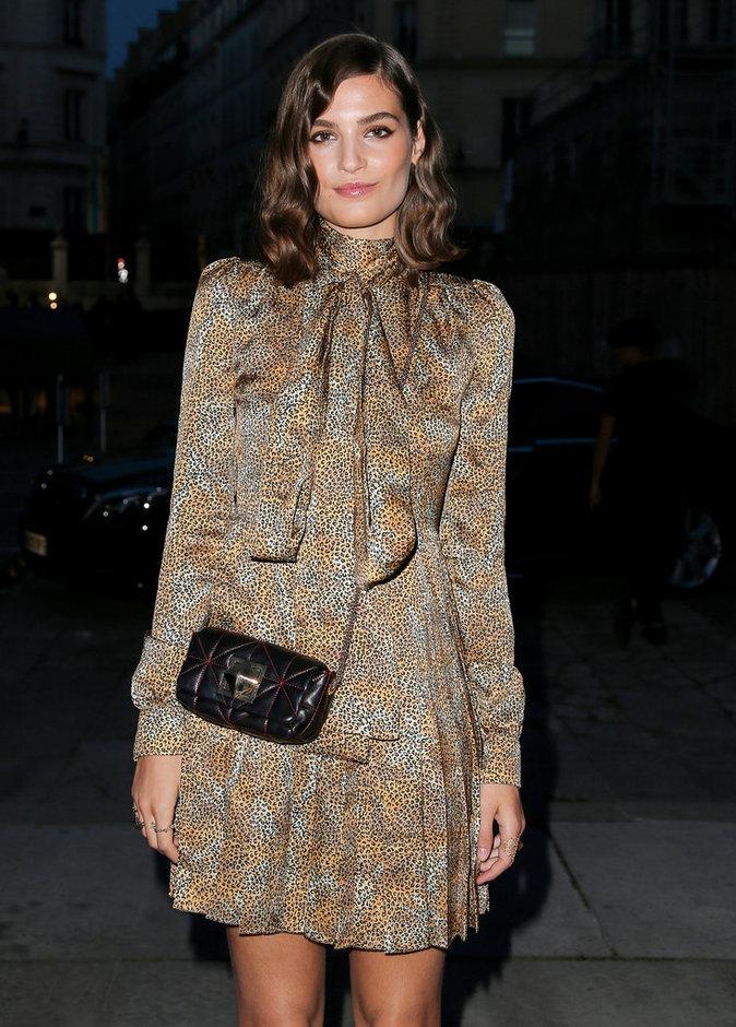 Alma Jodorowsky à la soirée Sonia Rykiel - Lancôme à Paris