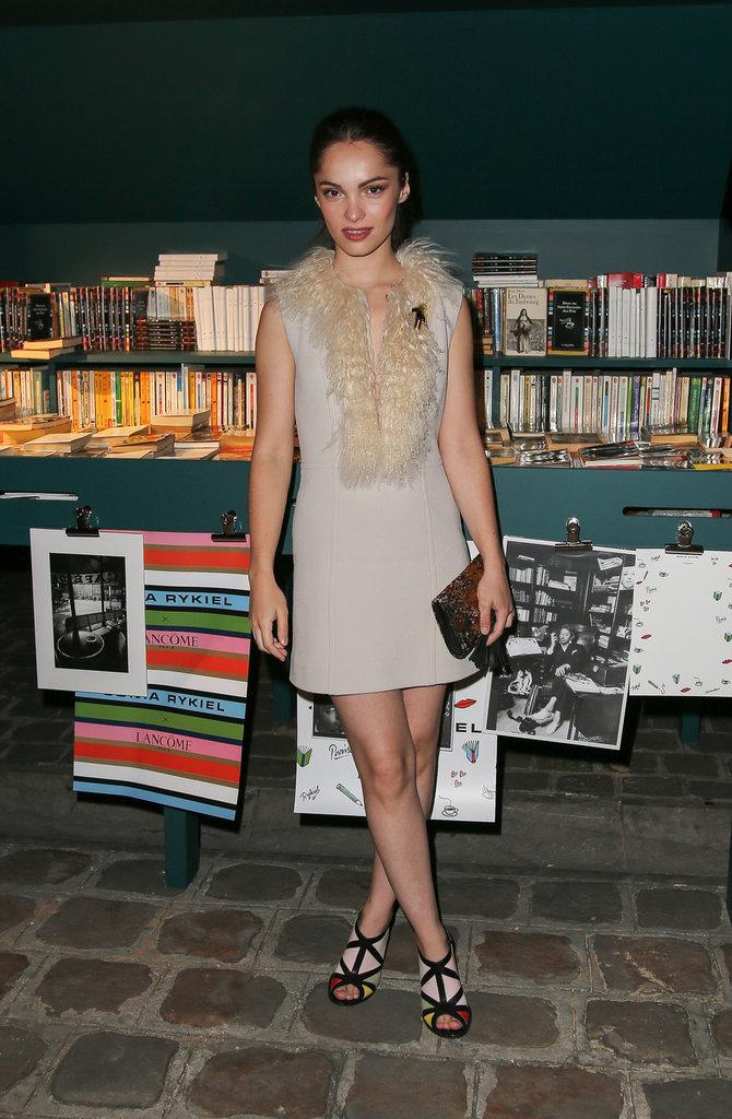Lola Le Lann à la soirée Lancôme Sonia Rykiel à Paris