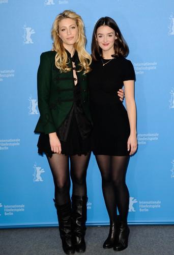 Marie de Villepin et Charlotte Le Bon à Berlin le 7 février 2014