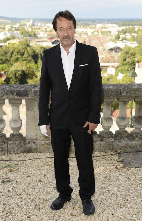 Jean-Hugues Anglade au Festival du film francophone d'Angoulême, le 25 août 2015